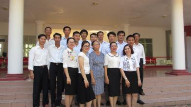 Tập thể Phòng Hành chính - Quản trị