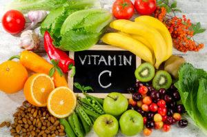 Hình 1: Các loại rau, quả có Vitamin C